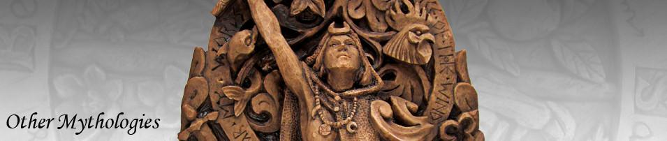 Goddess Statuary and Jewelry